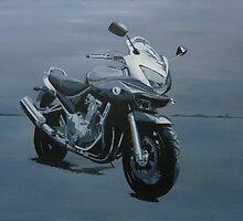 Motorbike by Marie Edlin
