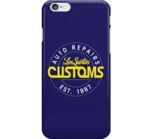 Lost Santos Customs Classic iPhone Case/Skin