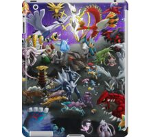 Pokemon: Gathering of Legends - poster/print iPad Case/Skin