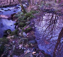 The River Duddon at Seathwaite in the Lake District by Simon Hathaway
