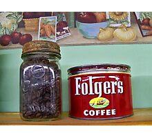 COFFEE BEANS! Photographic Print