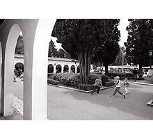Play . B & W Photographic Print