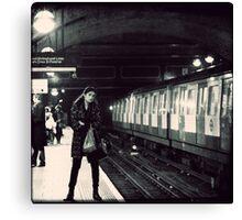 Underground cal - Jan Canvas Print