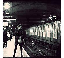 Underground cal - Jan Photographic Print