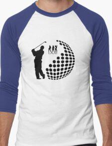 the golfer Men's Baseball ¾ T-Shirt