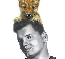 Wild Bill and Baby Wolf by nannowandnext