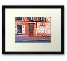 Paris Doorway 2 Framed Print