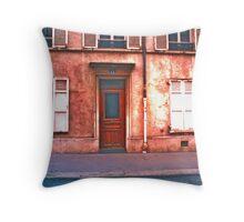 Paris Doorway 2 Throw Pillow