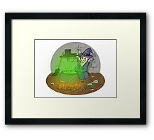 The Cackling Witch  Framed Print