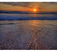 Froth & Bubbles - Newport Beach , Sydney - The HDR Experience Photographic Print