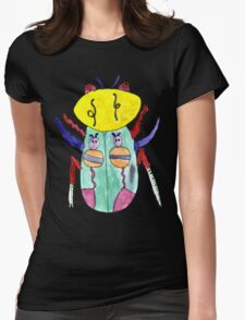 Lili Bug Womens Fitted T-Shirt