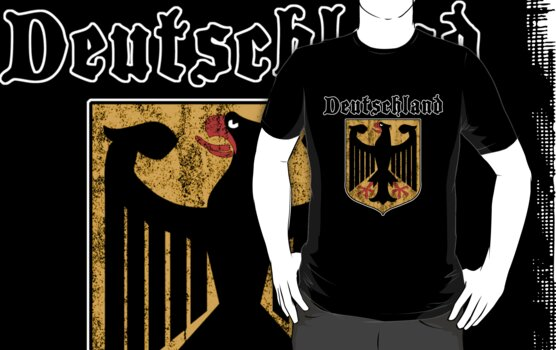 Deutschand T-Shirt by HolidayT-Shirts