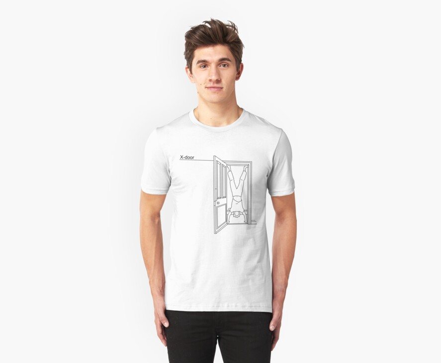 X-door T-shirt by James R Ford