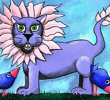 Lavender Lion by Kayleigh Walmsley