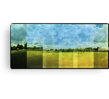 Across the expanse, time for a game Canvas Print