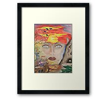 The Eyes Of The Truth Framed Print
