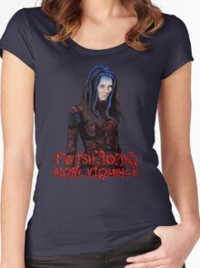 Angel - Illyria  Women's Fitted Scoop T-Shirt