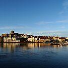 Coastal Town by HELUA
