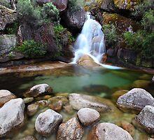 Ladies Bath Falls, Mount Buffalo, Australia by Michael Boniwell