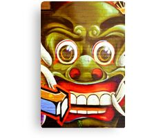 Smile your on Camera Metal Print