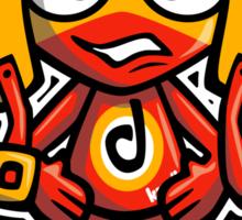Daredevil Mascot Sticker