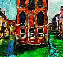Venice Intersection Fine Art Print by stockfineart