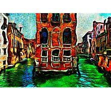 Venice Intersection Fine Art Print Photographic Print