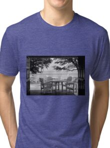 Sit Awhile Tri-blend T-Shirt