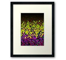 Glitter Dust Background Framed Print