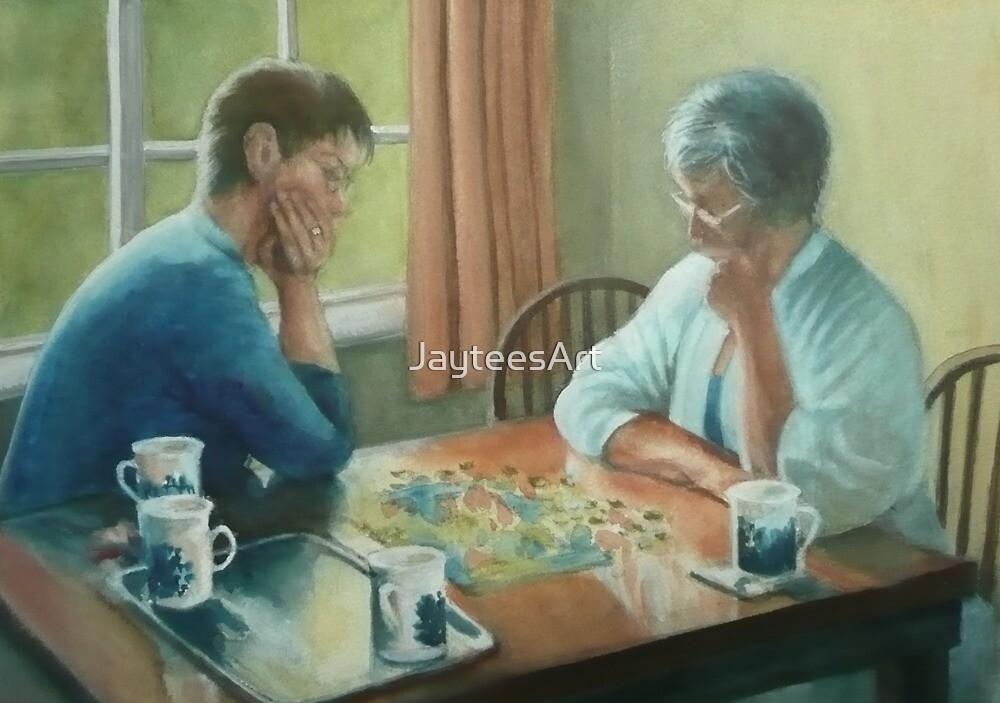 The Jigsaw by JayteesArt