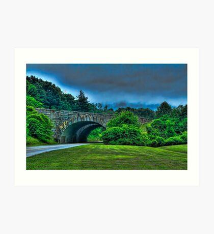 Blueridge Parkway Art Print