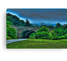 Blueridge Parkway Canvas Print