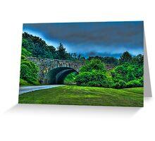 Blueridge Parkway Greeting Card