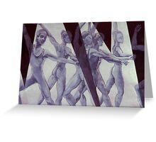 Dancers # 11 Greeting Card