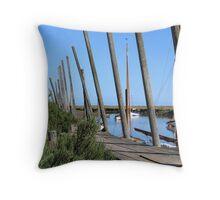 Blakeney Harbour Throw Pillow