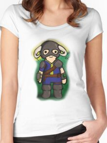Dovahkiin The Vault Dweller Women's Fitted Scoop T-Shirt