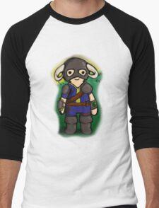 Dovahkiin The Vault Dweller Men's Baseball ¾ T-Shirt
