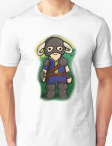 Dovahkiin The Vault Dweller Unisex T-Shirt