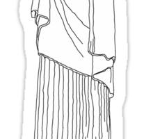 Cristo Redentor Sticker