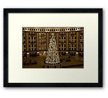 Christmas at West Baden Framed Print