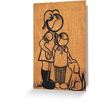 1970's Vintage Family... Greeting Card