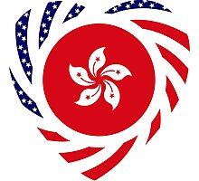 I Heart Hong Kong Patriot Flag Series Photographic Print