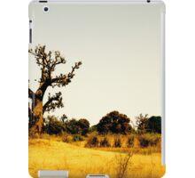 a vast Senegal landscape iPad Case/Skin