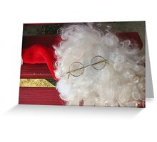 Santa - where are you? Greeting Card