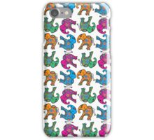 elephants, elephants and elephants  iPhone Case/Skin