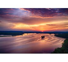 Mississippi River Valley Photographic Print