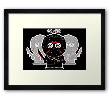 Friday The 13th (Jason Voorhees) Framed Print
