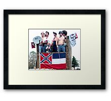 One for the Ladies who love country boys Framed Print