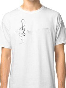 Treble clef / guitar  Classic T-Shirt