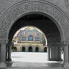Stanford University - Main Quad by Ellen Cotton